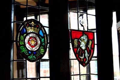Entrance To Bar With Stain Glass 6 of 12