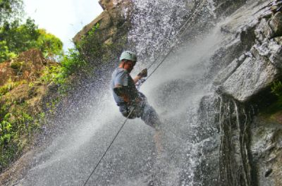 Waterfall Rappel At Antelope Falls 22 of 31