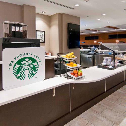 In A Hurry Visit Our Starbucks And Grab And Go Convenience. 18 of 27