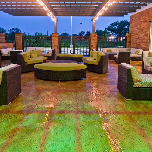 Experience Relaxation At Our Outdoor Patio Lounge. 6 of 27