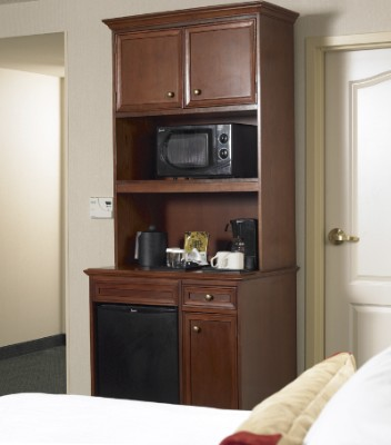 Microwave Refrigerator & Coffeemaker In Every Guest Room 3 of 3