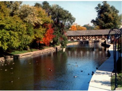 Downtown Naperville Riverwalk 3 of 4