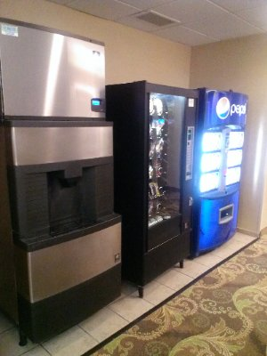 Ice Machine & Soda & Snack Machine On Our First Floor 7 of 14