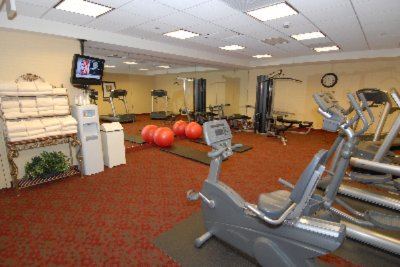 Our Large Fitness Center Features Everything Needed To Stay Fit While Traveling 4 of 10