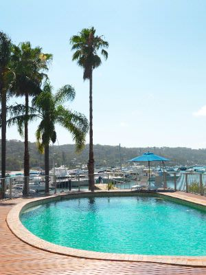Hotel Pool And Pittwater 5 of 12