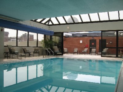 Glass-enclosed Indoor Pool 9 of 11