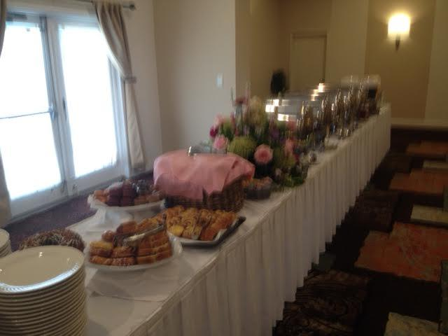 Buffet Set Upfor The Post Wedding Breakfast 19 of 24