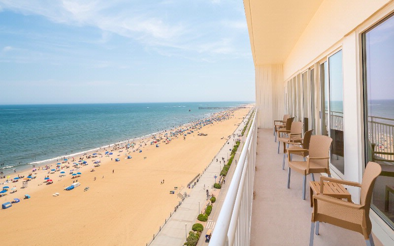 Sweeping Views Of Atlantic Ocean And Virginia Beach Boardwalk From Private Balcony Of Meeting Room 9 of 20
