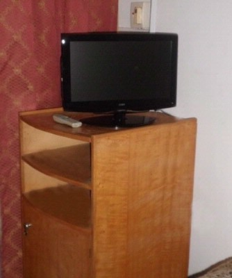 Flat Screen Tv And Refrigerator Cabinet 7 of 11