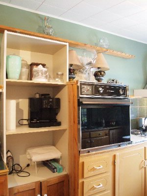 Kitchen Niagara On The Lake Historical Cottage Rental 15 of 31
