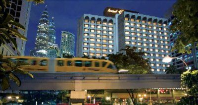 Front View Of Hotel & Monorail 2 of 11