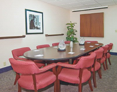 Our Board Room Seats Up To 10 People And Features A White Board Pull Down White Screen Tv/dvd Available And Free Wireless High-Speed Internet. 11 of 11