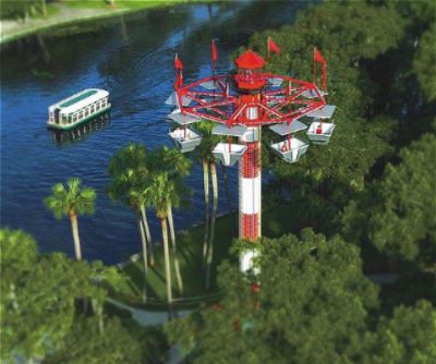 An Aerial View Of The Silver Springs Nature Theme Park 15 of 16