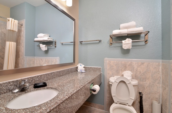 We Offer Plenty Of Space In Our Bathrooms For You To Prepare For Your Day. 7 of 16