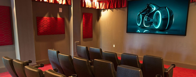 On-Site Movie Theater Room 9 of 11
