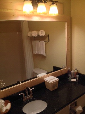 Upgraded Bathrooms Reid Ridge Lodge -Blue Ridge Places To Stay 7 of 13