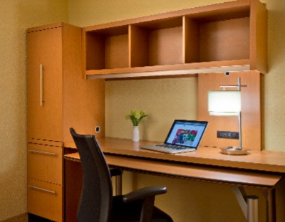 Stay Productive While On The Road With A Home Office Suites Available In All Studio & One Bedroom Suites 7 of 9