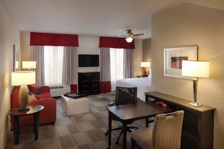Homewood Suites Nashville Vanderbilt Spacious King Studio Suite 3 of 12