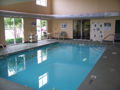 Take A Swim In Our Indoor Heated Pool (Only One In Pineville) 6 of 10