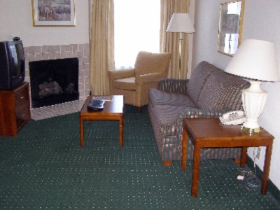 Living Room Area Of Our Lavish Two-Bedroom Suites. 4 of 7