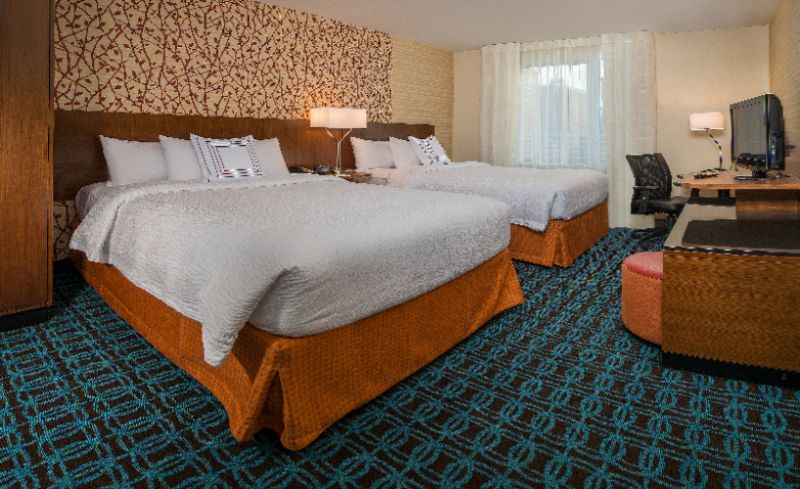 The Majority Of Our Rooms Have 2 Large Queen Sized Beds Perfect For Groups That Need 4 Guests Per Room! 3 of 4