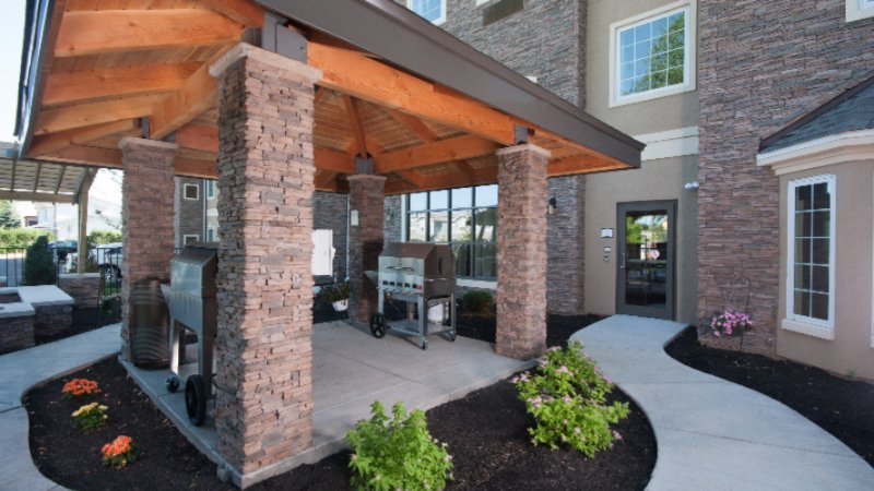 Outdoor Bbq Pavilion With Grills 6 of 14