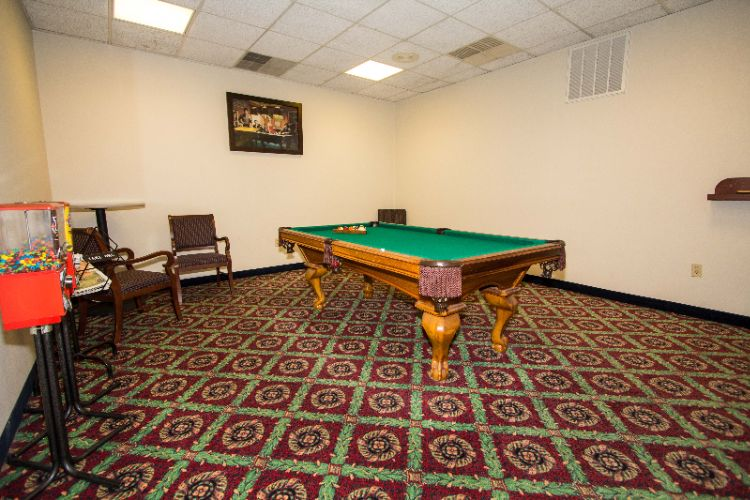 Game Room With Pool Table 11 of 12