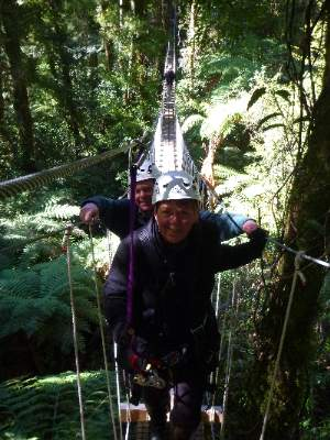 Owners Toni And Glenn At Canopy Tours 15 of 16