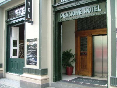 Pensione Hotel Sydney George Street Entrance