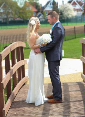 Wedding Couple At The Lensbury 15 of 15