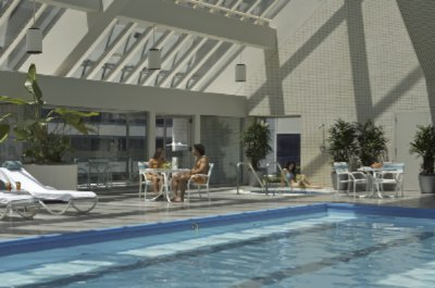 Glass Enclosed Pool And Spa Available In 10000 Square Foot Health Center 11 of 11