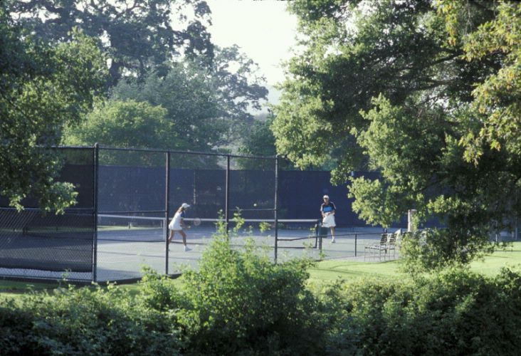 Tennis Courts At Alisal Guest Ranch 14 of 21
