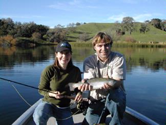 Fishing On Alisal Lake 17 of 21