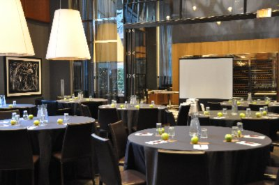 Victor Restaurant -1/2 Round Set-Up 12 of 13