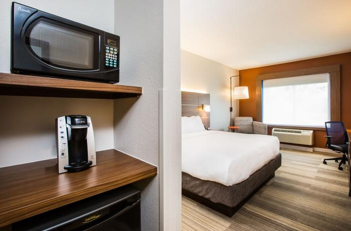 Our Rooms Feature Large Work Spaces Perfect For Staying On Top Of Your To-Dos As You Travel! 3 of 13