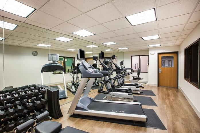 Stay On Top Of Your Fitness Goal With Our Newly-Renovated Workout Room! 9 of 13