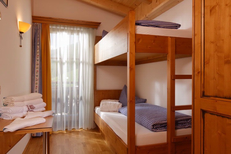 Bunk Bed Room Chalet 6 & 8 Person 9 of 19