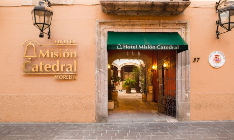 Hotel Mision Catedral Morelia 1 of 12