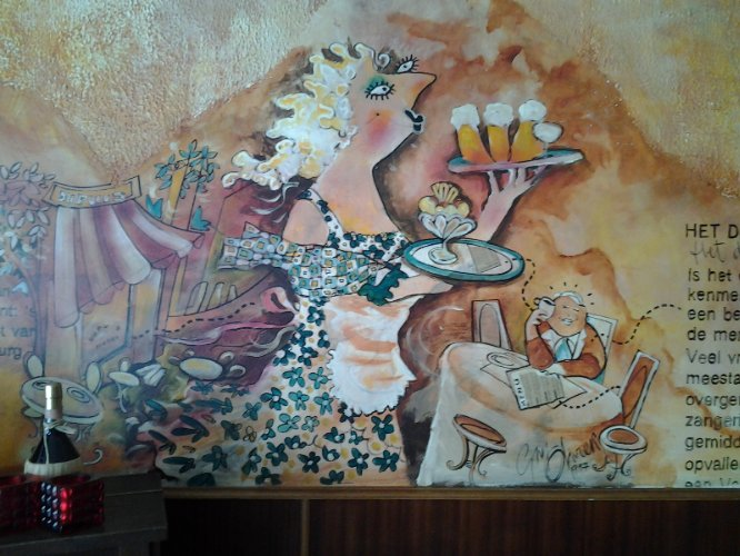 Wallpaintins By The Famous Guy Oliver 23 of 31