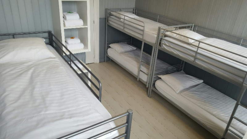 6 Persons Room With 3 Bunkbeds. 27 of 31