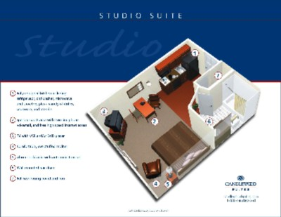 Studio Suite Layout 3 of 9