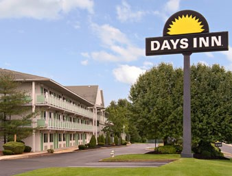 Days Inn Brooklawn Days Inn Logo Front Of Building