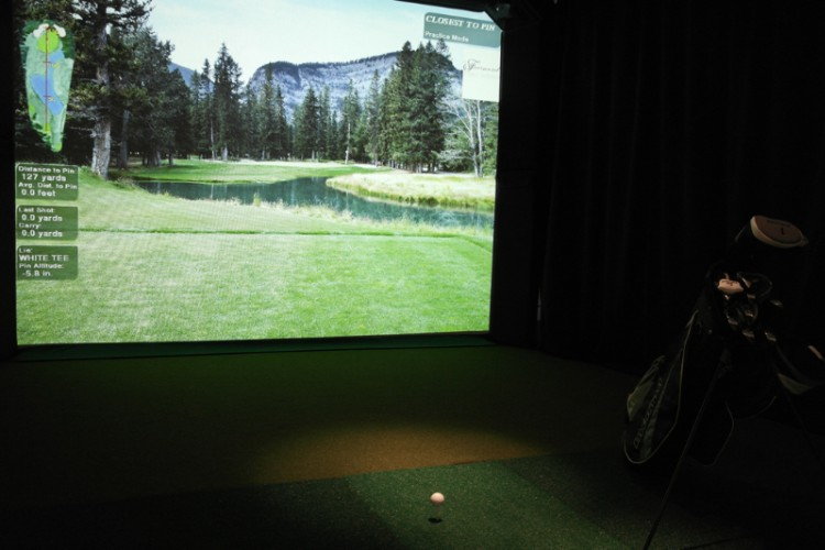 Virtual Golf Room 13 of 17