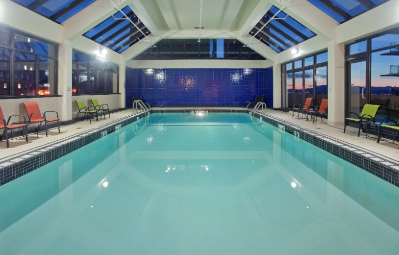 Sun Lit Indoor Swimming Pool 12 of 16