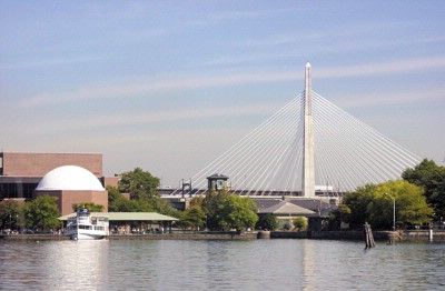 Zakim Bridge And Museum Of Science 10 of 11