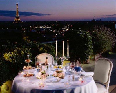 Belle Etoile Royal Suite Romantic Dinner On The Terrace By Night 18 of 31