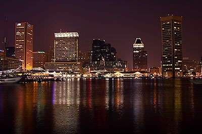Baltimore Skyline @ Night 7 of 13