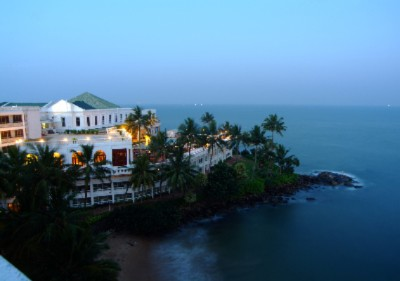 Aerial View Of The Hotel At Dusk 6 of 16