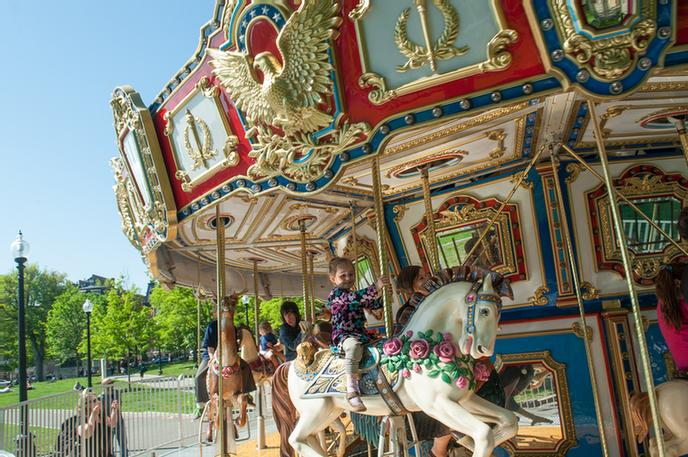 Carousel At Frog Pond Boston Common 6 of 13