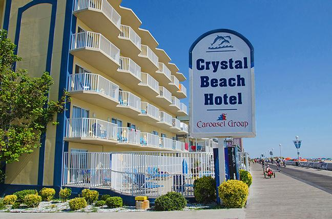 Crystal Beach Hotel 2500 Baltimore Ave Ocean City Md 21842